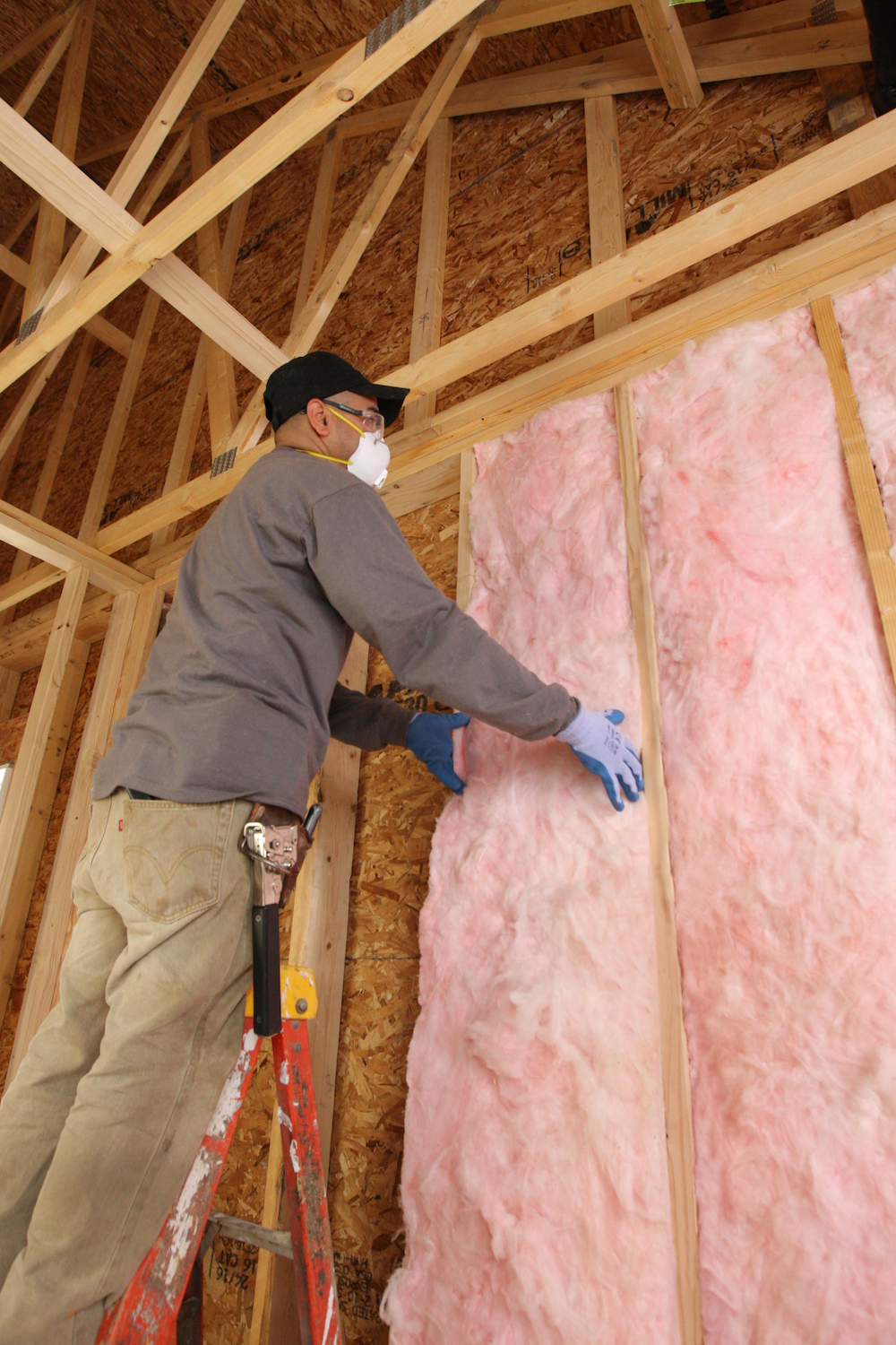 Best fiberglass insulation installation in me anderson for Batt insulation r value