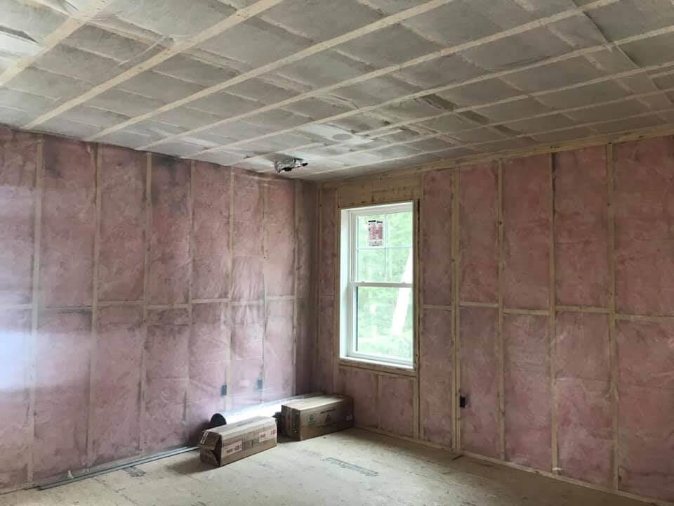 Fiberglass & Blown-In Insulation Photo Gallery from Maine